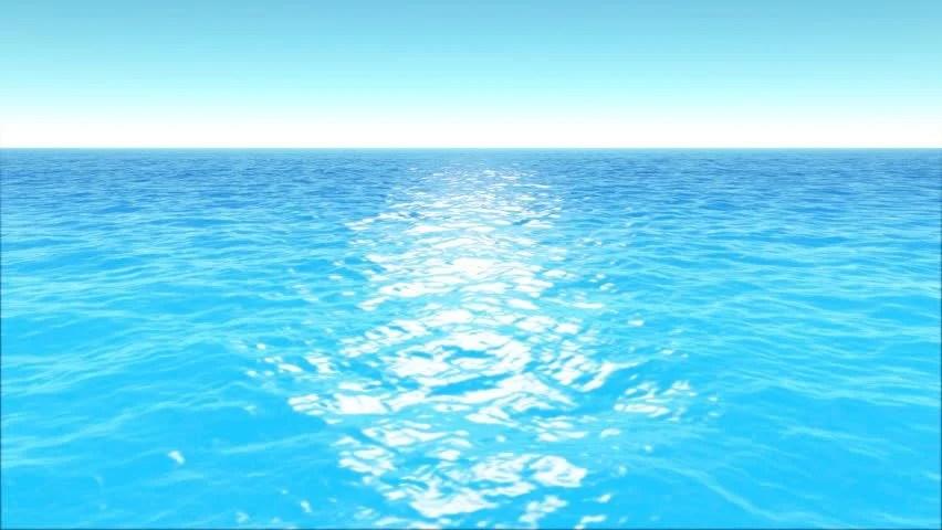 Tropical Ocean 3d Live Wallpaper Stock Video Of Ocean Waves Horizon Lm03 Loop Animation