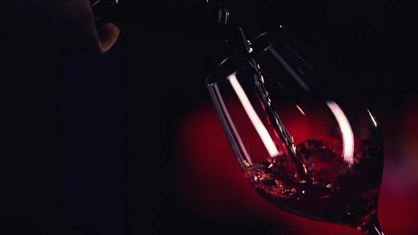 Cigaret With Girl Wallpaper Download Red Wine Poured Into Glass Isolated On Black Background