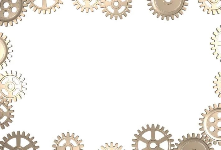3d Clock Live Wallpaper Stock Video Clip Of Frame Made By Rotating Gear Wheels