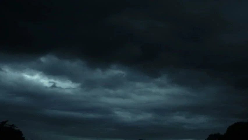 Dark Black Wallpaper Hd Lightning Storm Clouds From The Sky Image Free Stock