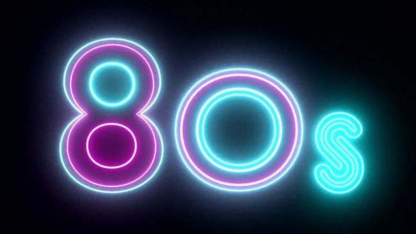 3d Text Live Wallpaper 80s Background Stock Footage Video Shutterstock