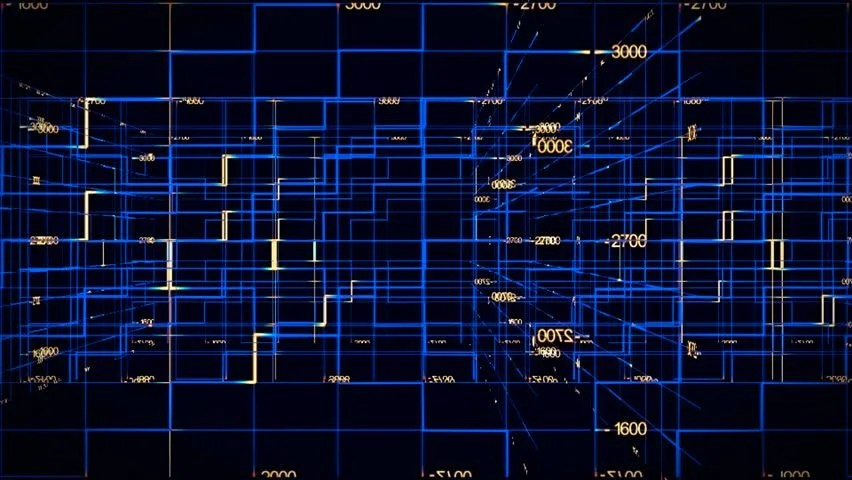 Background for Computer Technology Full Stock Footage Video (100