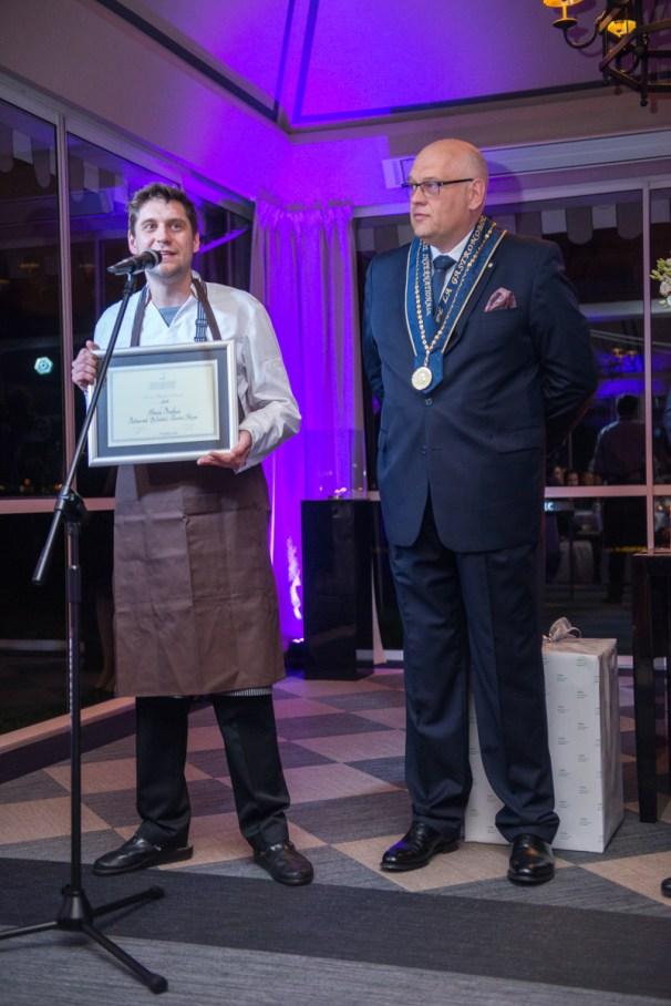 Szef Marcin Przybysz, Restauracja Belvedere - laureat w kategorii Prix au Chef de L'Avenir