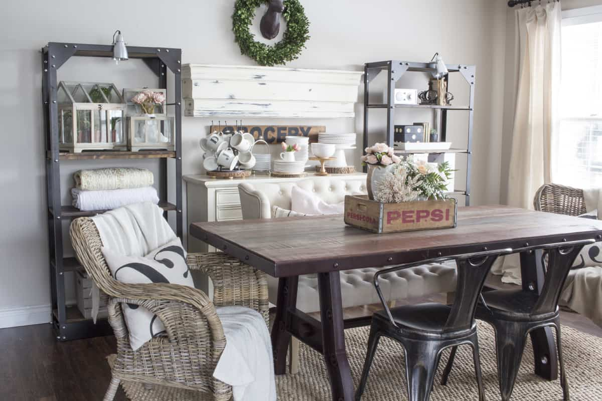 Modern Farmhouse Wall Decor Dining Room Decorating Styles Find Your Decorating Style Where To