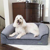 Romeo Orthopedic Bolster Dog Bed | Frontgate