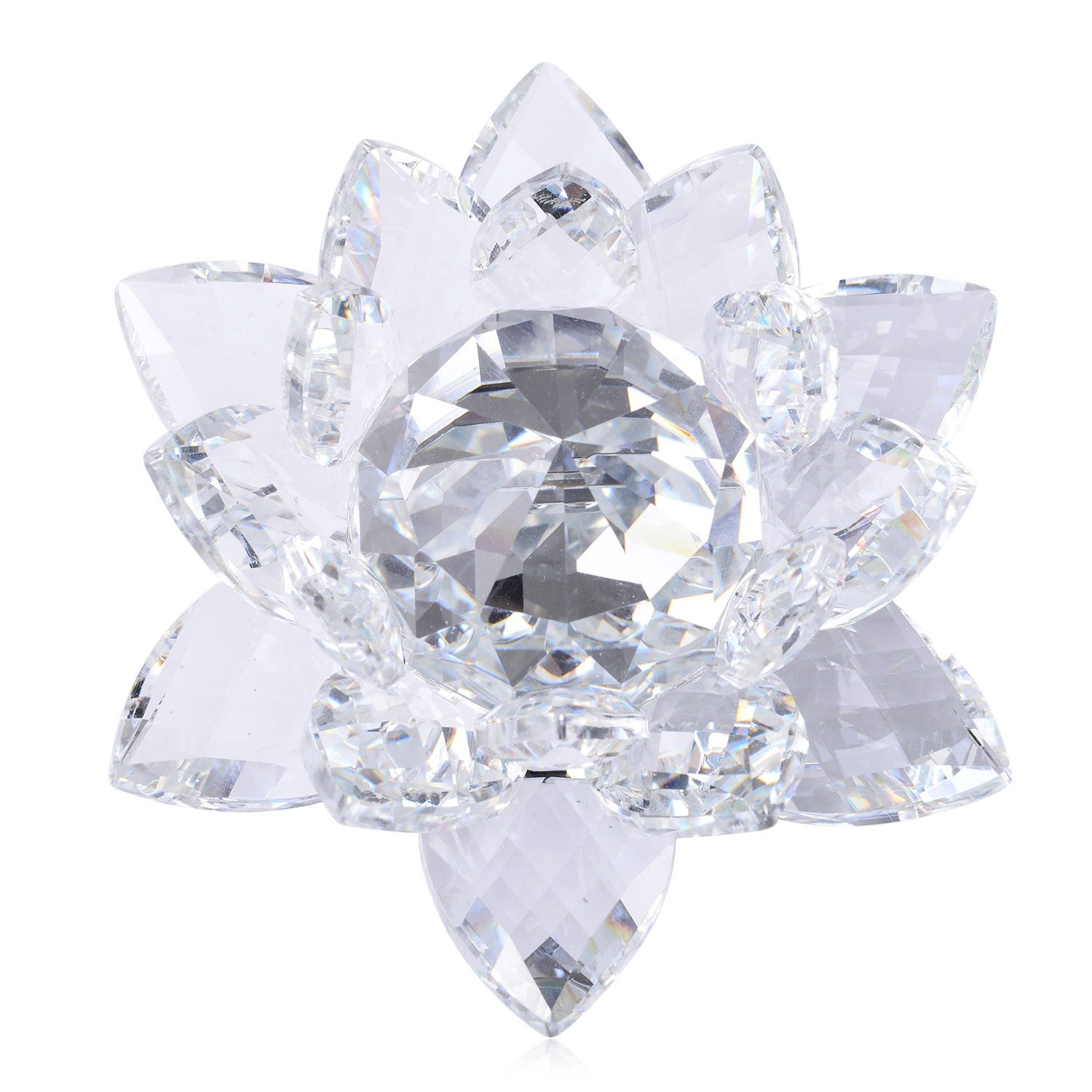 Crystal Decorations For Home Home Decorative Crystal Lotus Flower Tgw 2345 000 Cts