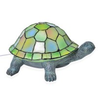 Doorbuster Hand Painted Multi Color Tiffany Style Turtle ...