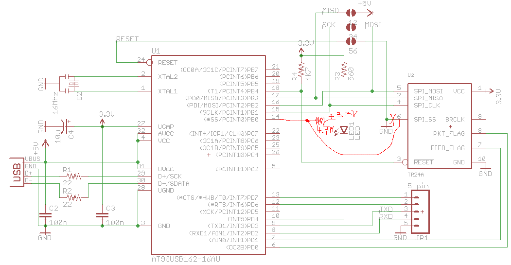 ublox gps schematic