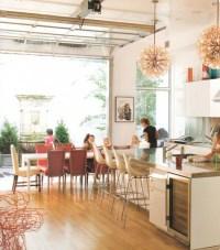 Garage Doors in the kitchen | AkerDoors Blog