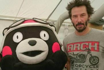 เมื่อหมี Kumamon เจอกับ Keanu Reeves