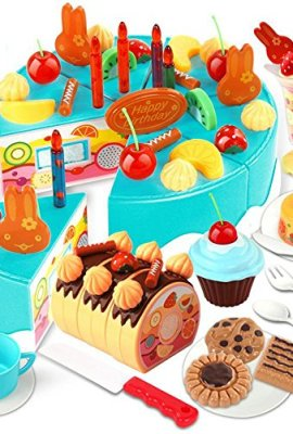 75-Pieces-Blue-Early-Age-Basic-Skills-Development-Pretend-Play-Toy-Children-Food-Playset-Educational-Toys-Baby-Girl-Boy-Fruit-Birthday-Cake-Sets-0