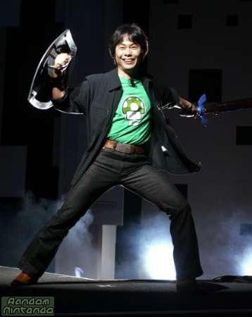 Cosplay de Miyamoto como Zelda