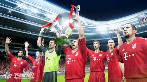 FC Bayern en PES 2014