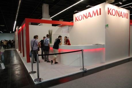 Stand de Konami en la Gamescom 2014