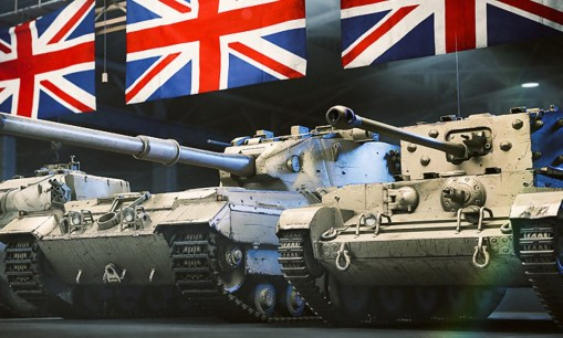 World Of Tanks Tanques Britanicos (Custom)