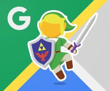 Zelda Google Maps