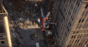 Acrobacia Spiderman