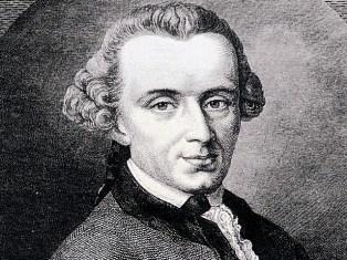 Immanuel Kant'ın vesikalık resmi