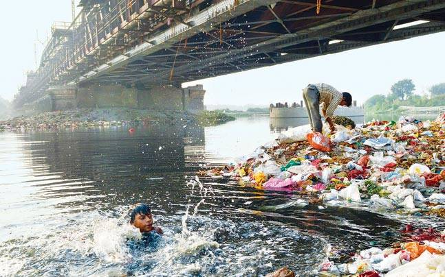 Yamuna Polluted Beyond Control Even Its Treated Water Can