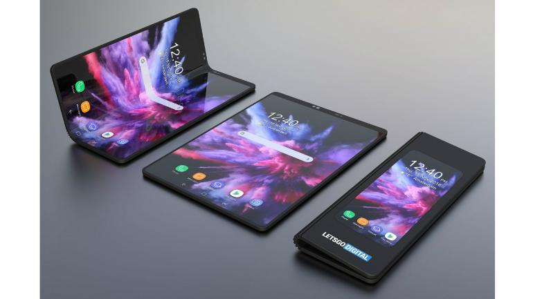 Samsung39s Foldable Galaxy F Smartphone Gets Rendered In 3d