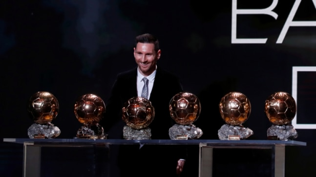 Lionel Messi Claims Record 6th Ballon D Or Overtakes