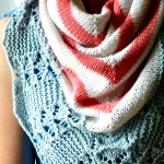 Effervescent Shawl pattern. aknitica.com #knitting #shawls