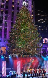 Rockefeller Center Christmas Tree Lighting Is a Smash Hit ...