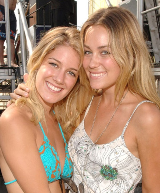 Lauren Conrad It S Been 10 Years Since Lauren Conrad And Heidi Montag S