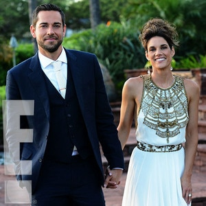 Zachary Levi Marries Missy Peregrym In Maui See The First
