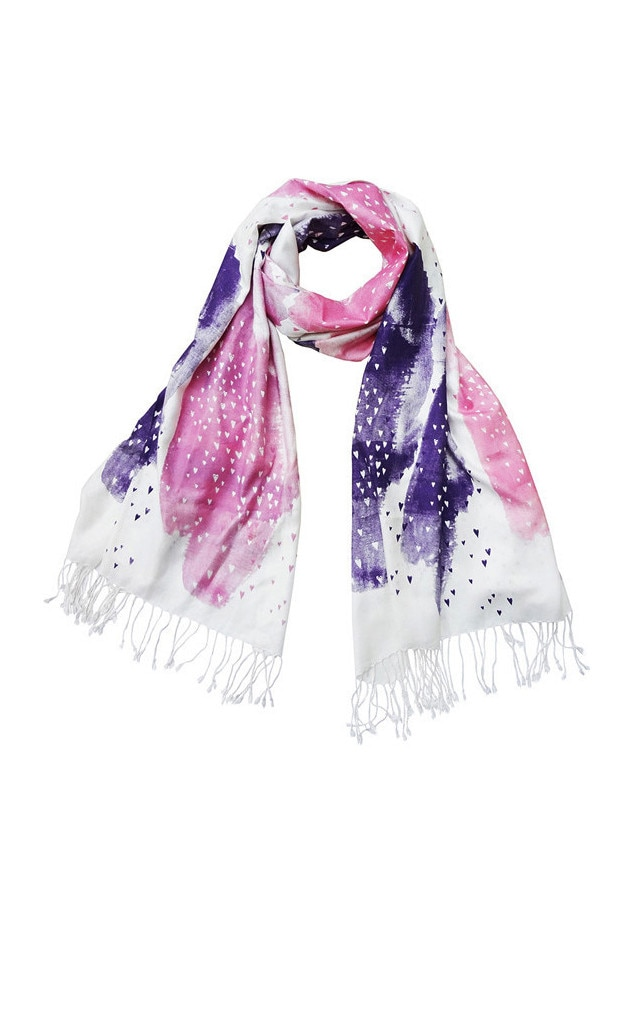 Bonbi Forest Little Lovers Scarf In Berry 49 From Pink