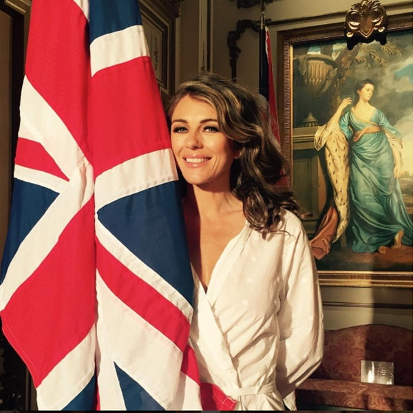 Babies R Us Canada Elizabeth Hurley From Behind The Scenes Of The Royals Season 3
