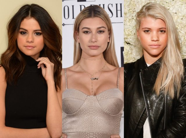 Image result for Hailey Baldwin and Sofia Richie
