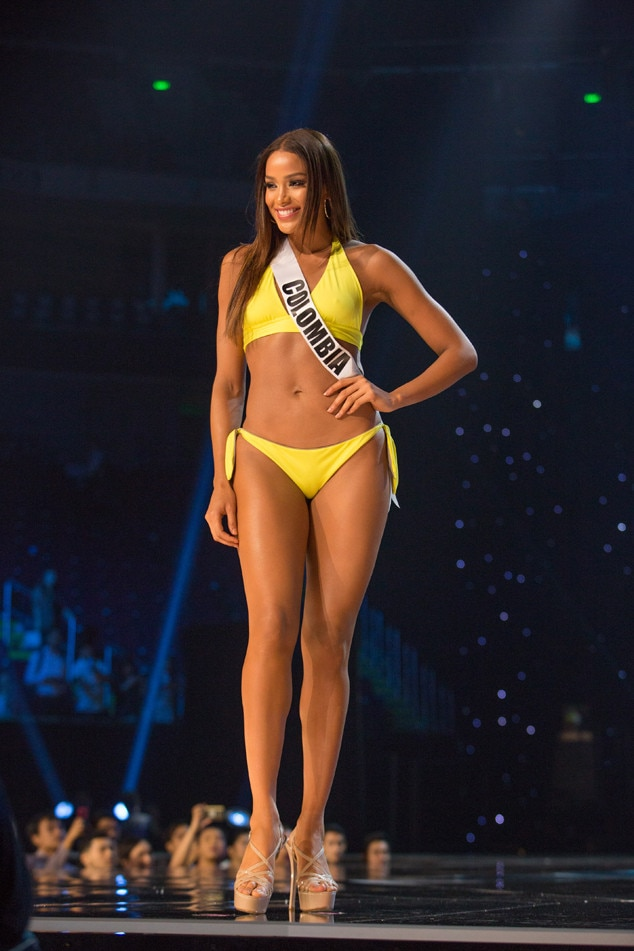 Temptation Mexico Miss Colombia From Miss Universe 2017 Preliminary Swimsuit