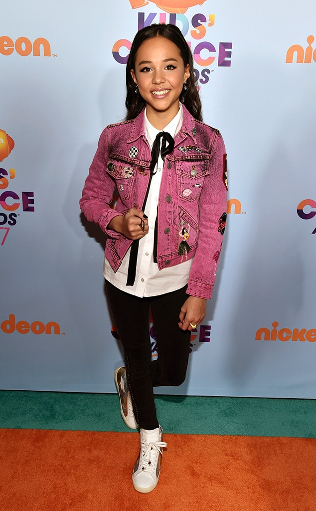 Breanna Yde From Kids39 Choice Awards 2017 Red Carpet