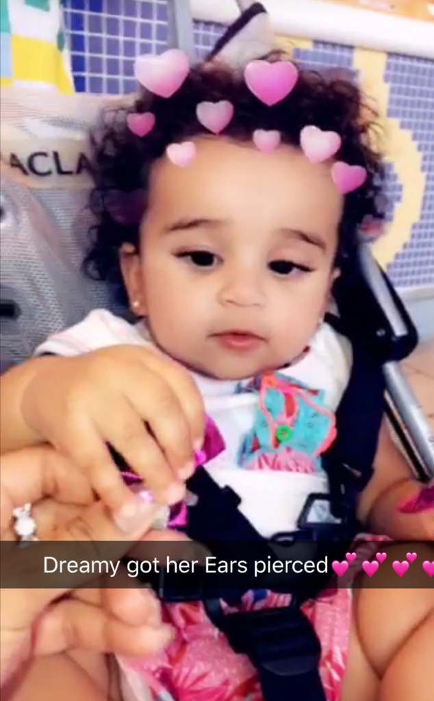 Baby Stroller Online Shopping Australia Dream Kardashian Just Got Her Ears Pierced On King Cairo 39;s