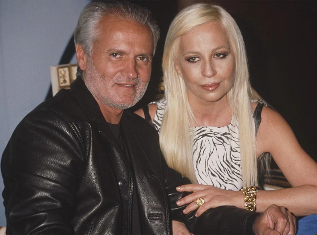Donatella Versace Shares Memories Of Gianni In Vogue S 73