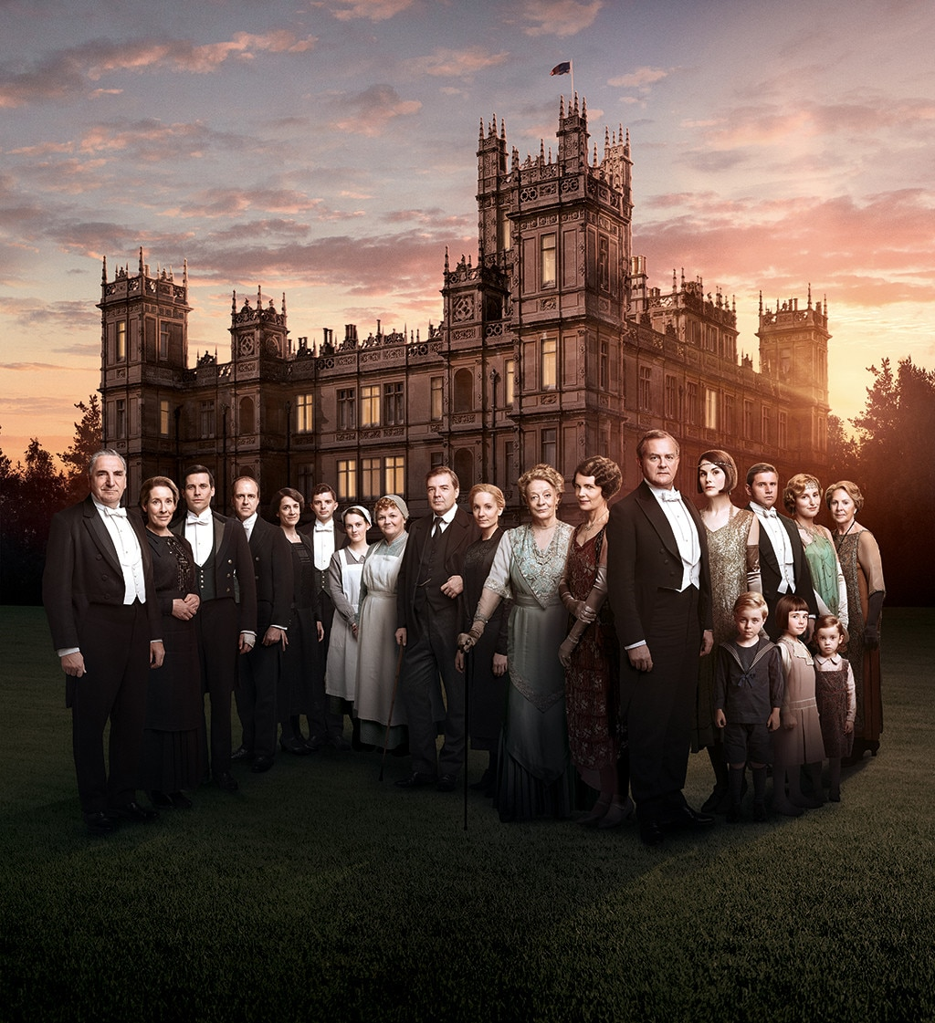 Downton Abbey Movie Cast Who S In And Who S Out E News