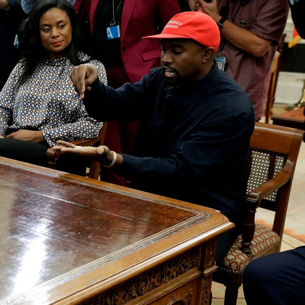 Kanye West Visits White House For Meeting With President