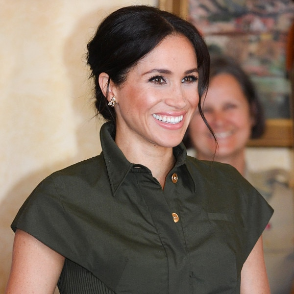 Meghan Markle Brings Maternity Fashion On Her Royal Tour