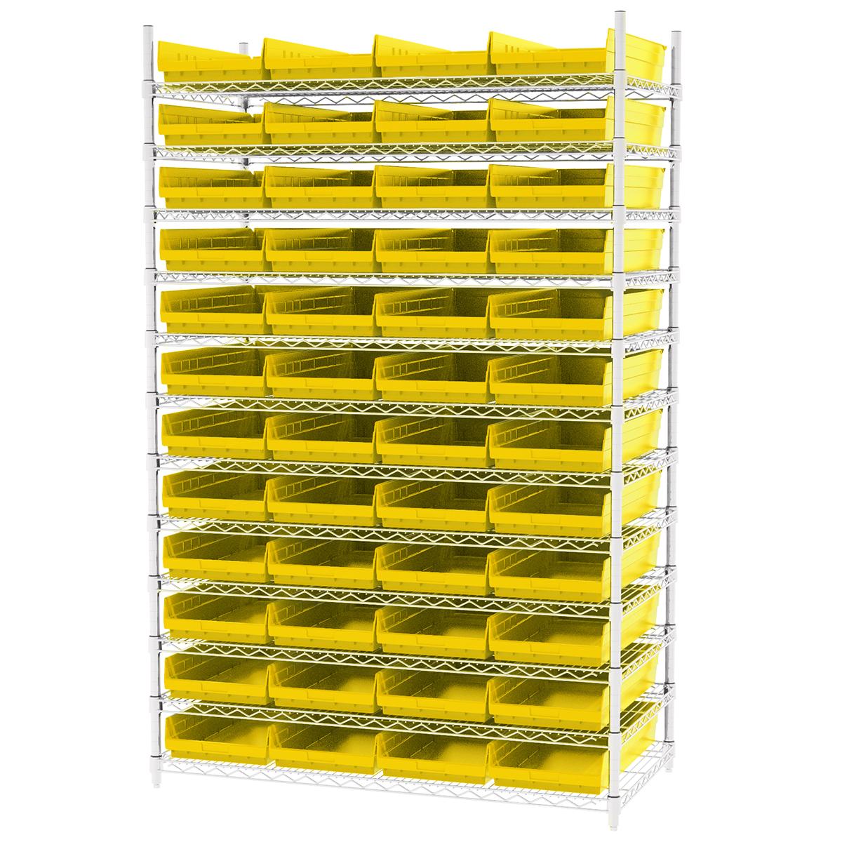 Stackable Storage Bin Racks Pick Rack Systems Wire