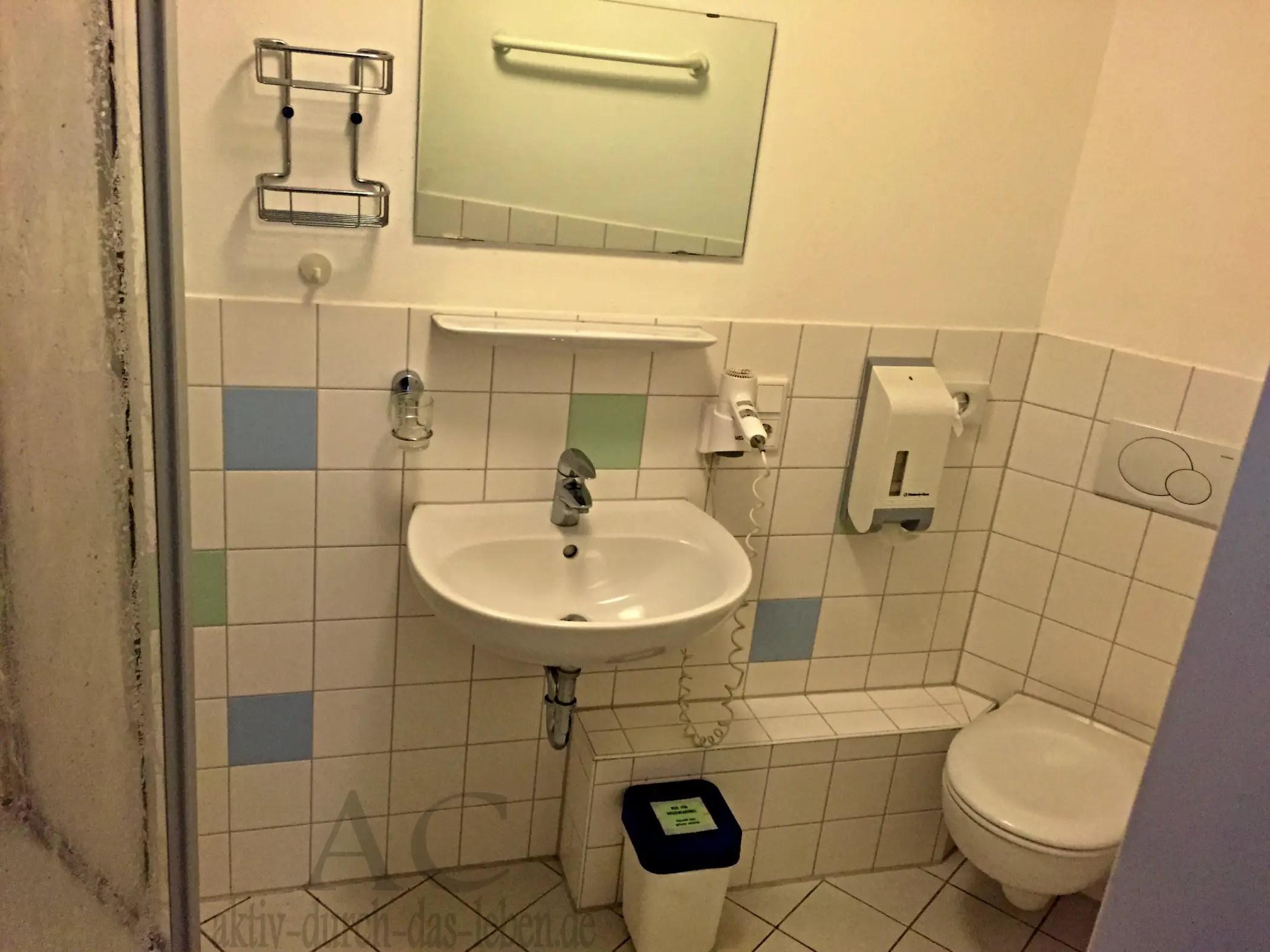 Badezimmer Kleve Ferienwohnung Rehsol