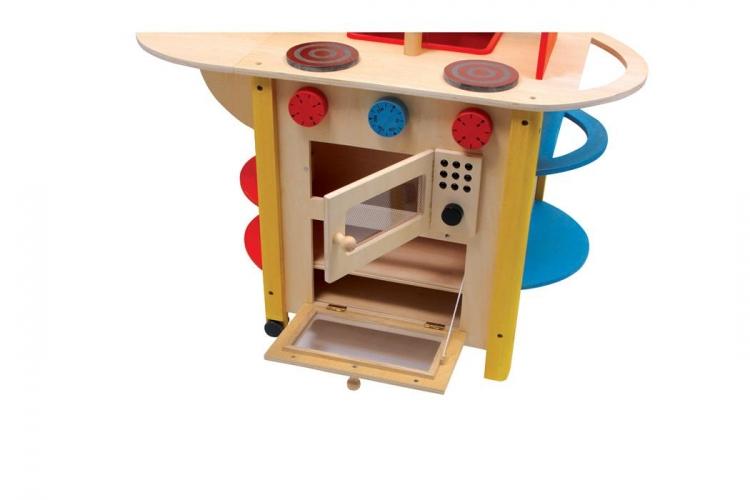 Küche Aus Holz Für Kinder | Holz Kinderküche - Küche Kinder All In ...