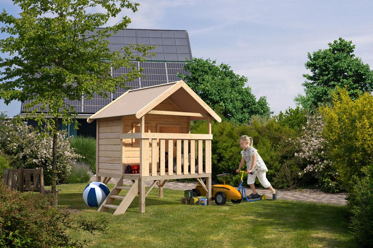 Spielhaus Mit Sommerküche : Spielhaus kaufen smoby spielhaus natur mit sommerküche online
