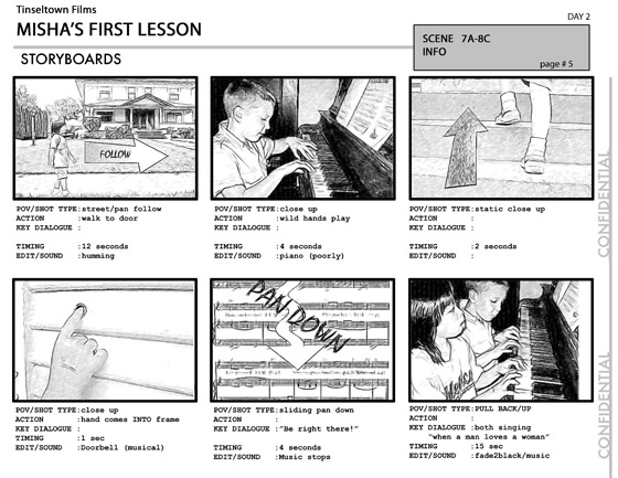 Steven Sorensen (stevensorensen0) on Pinterest - movie storyboard