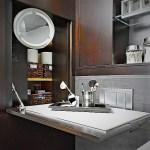 ötletek kis fürdőszoba tágasabbá tételéhez