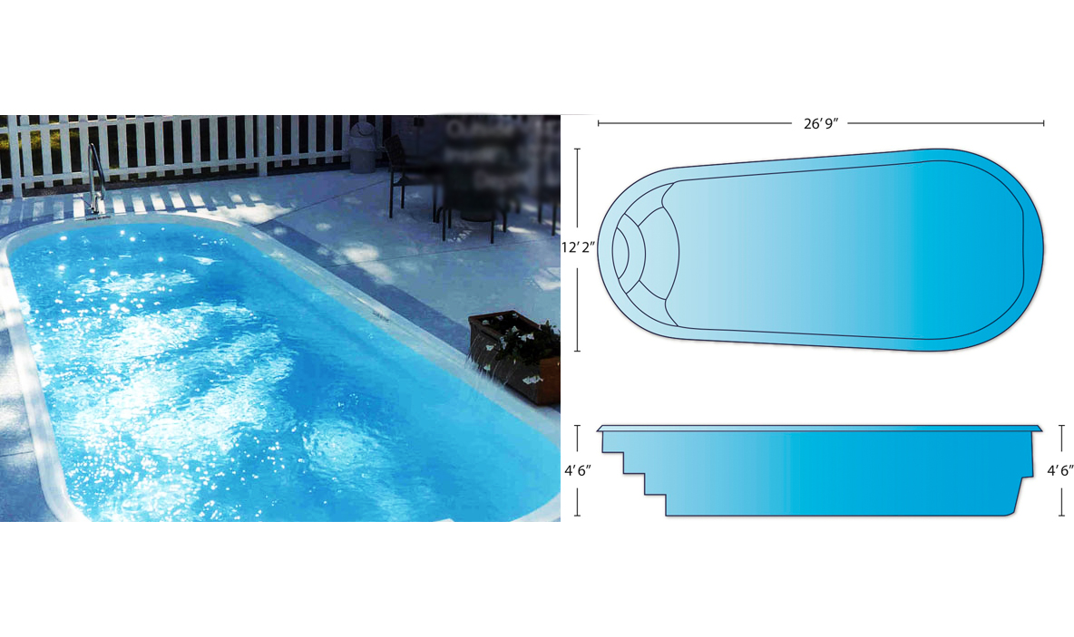 Jacuzzi Pool Dimensions Pool Shapes Sizes Charleston Swimming Pool Company