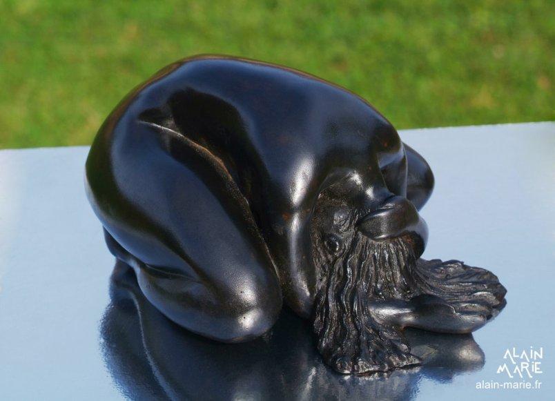 Adoration bronze 9x16x12