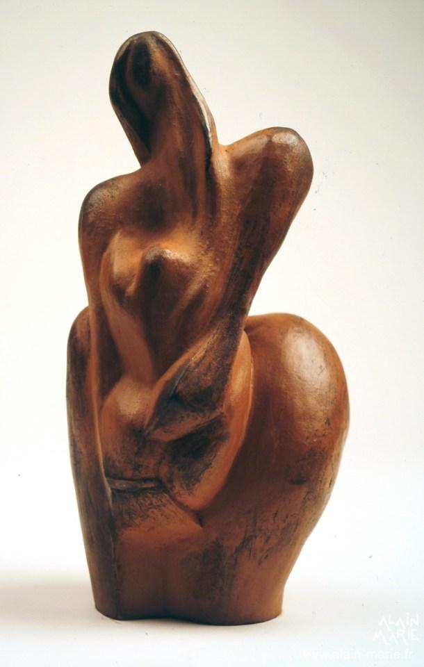 2005 Femme à l'enfant 29x16x15