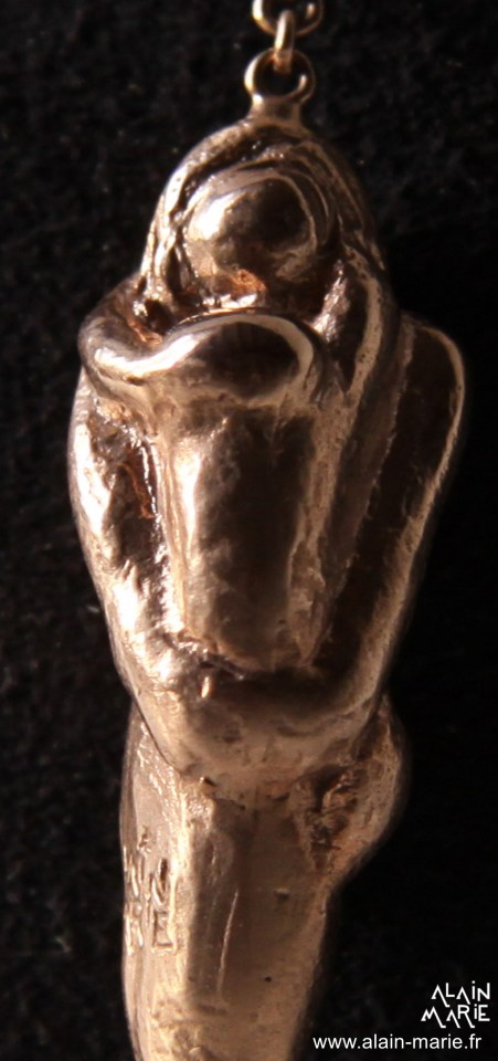 B.O. Femme à l'enfant, Bronze doré