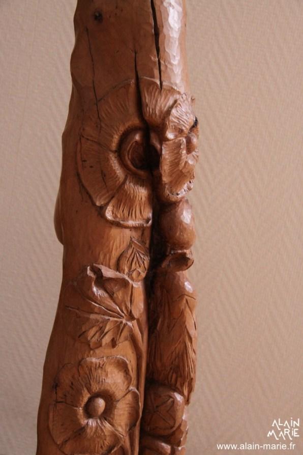 Vierge à la rose trémière (2)